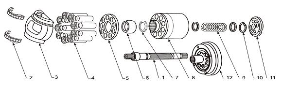 Ремонт гидронасоса A4VG90