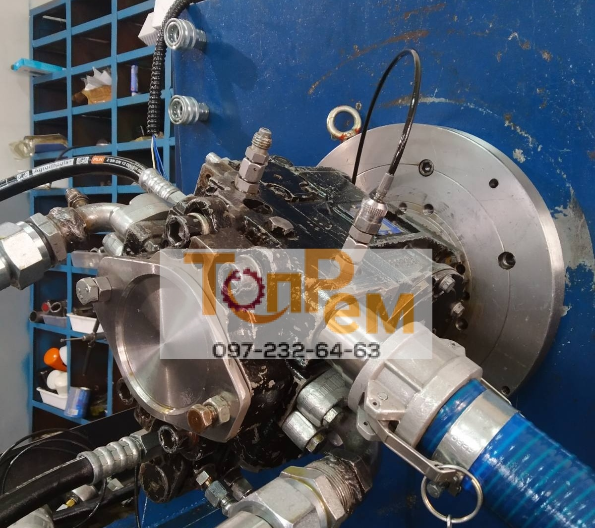 ремонт гидромоторов без посредников