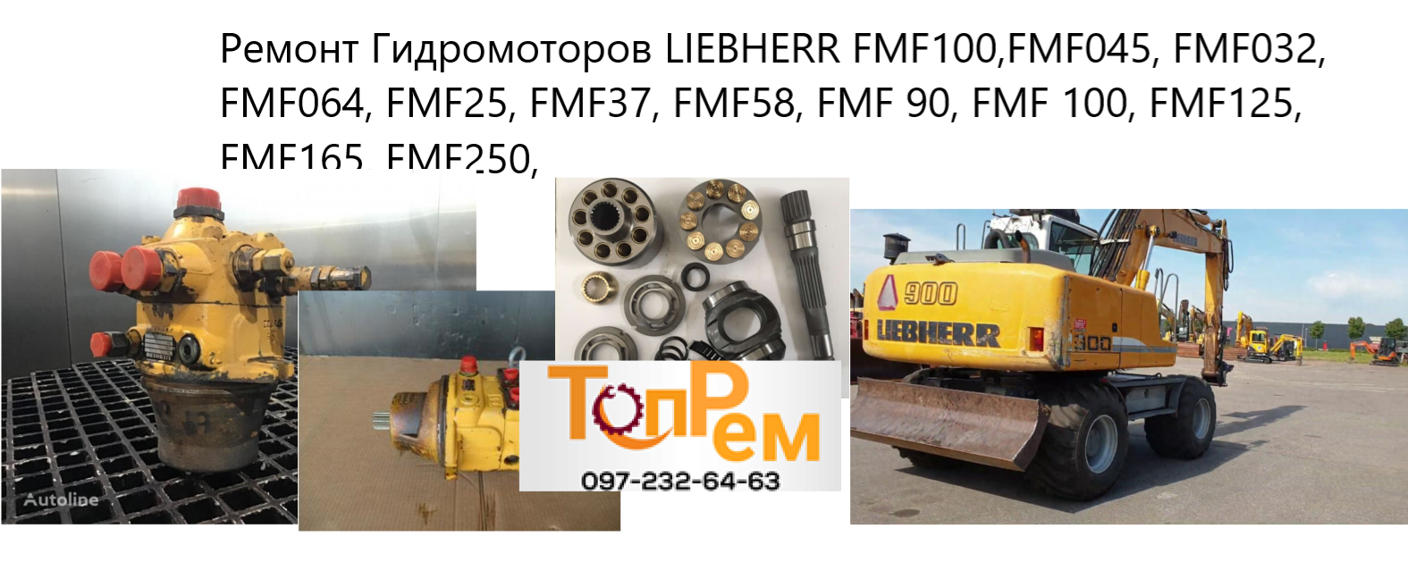 Ремонт Гидромотора LIEBHERR FMF100